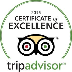 Trip Advisor Excellence Badge
